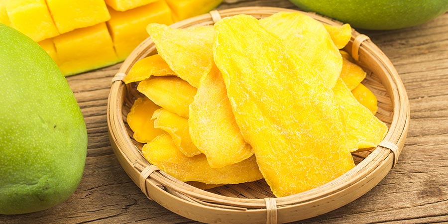 Qué es la fruta deshidratada